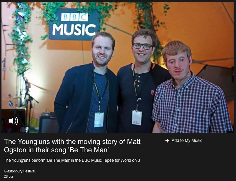 Younguns at Glastonbury on BBC Radio 3