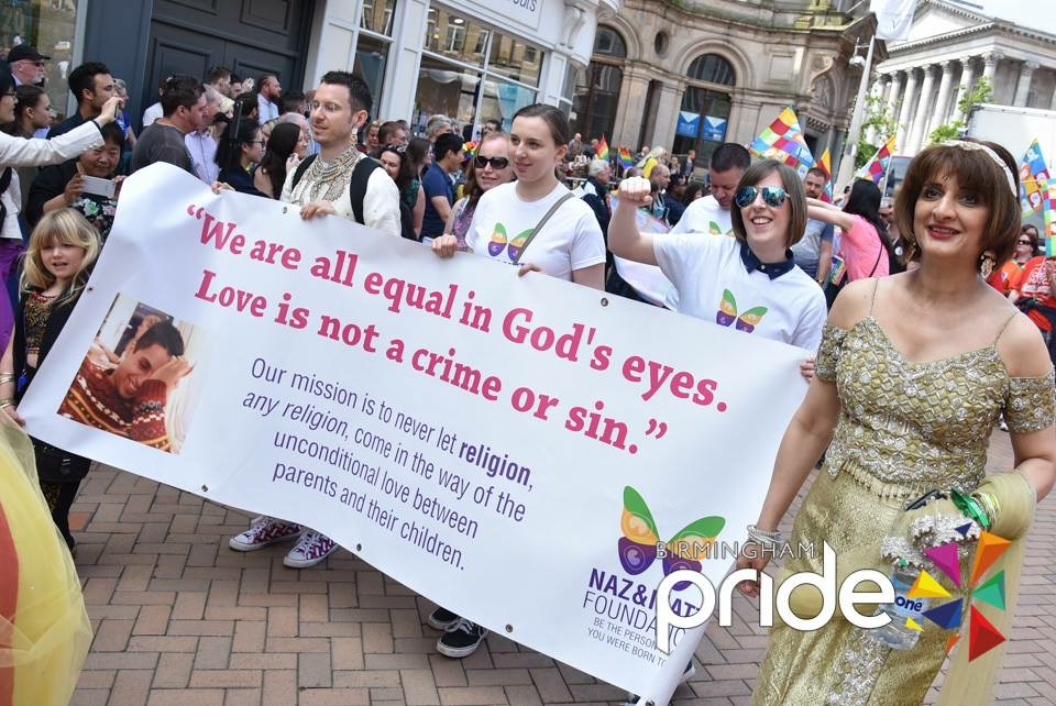 Birmingham Pride - the parade march 01
