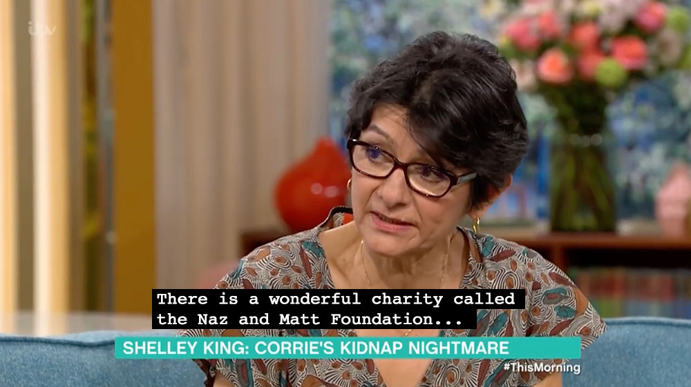 Shelly King - Coronation Street - ITV This Morning